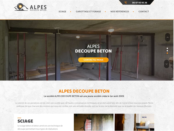 ALPES DECOUPE BETON